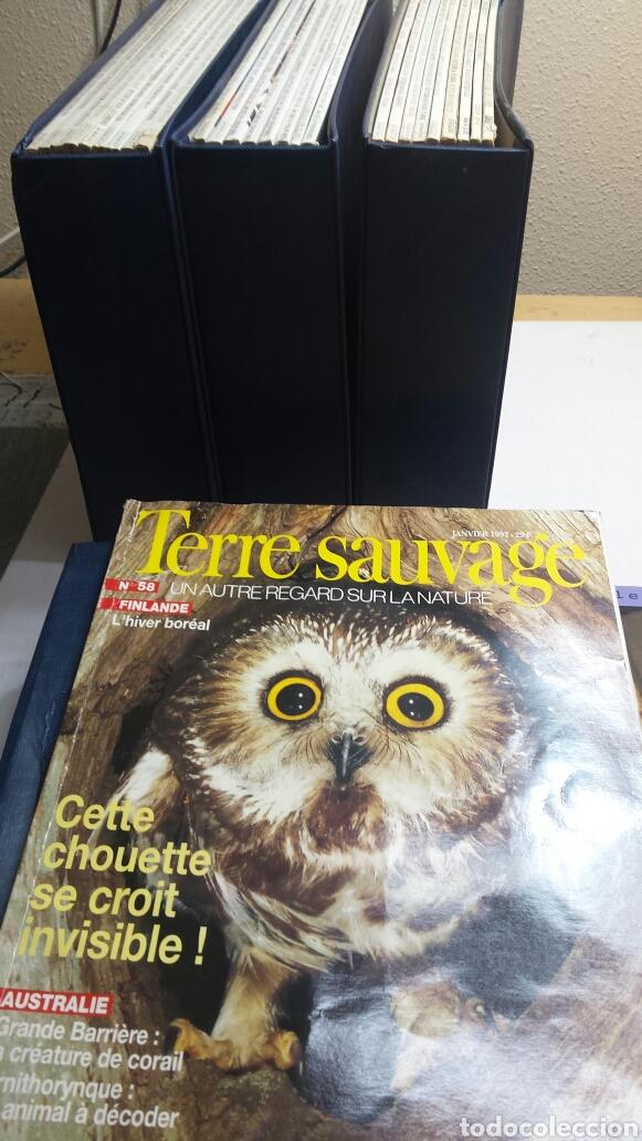 Coleccionismo de Revistas y Periódicos: Colección Terre Sauvage años 92-93-94-95 - Foto 3 - 82995400