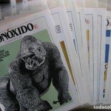 Coleccionismo de Revistas y Periódicos: 1988. MONÓXIDO 16. SEMANARIO ILUSTRADO DE INTOXICACIÓN GENERAL. (VER DETALLE Y FOTOGRAFÍAS). Lote 82996640