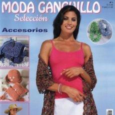Coleccionismo de Revistas y Periódicos: MODA GANCHILLO SELECCION N. 1 - ACCESORIOS (NUEVA). Lote 173663949