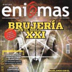 Coleccionismo de Revistas y Periódicos: ENIGMAS N. 257 - EN PORTADA: BRUJERIA EN EL SIGLO XXI (NUEVA). Lote 179110777