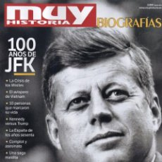 Coleccionismo de Revistas y Periódicos: MUY HISTORIA BIOGRAFIAS N. 7 - KENNEDY, EL SUEÑO AMERICANO (NUEVA). Lote 136044209