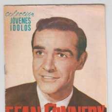 Coleccionismo de Revistas y Periódicos: COLECCION JOVENES IDOLOS SEAN CONNERY AGENTE 007 JAMES BOND EDITORIAL ALAS 1965. Lote 83037508