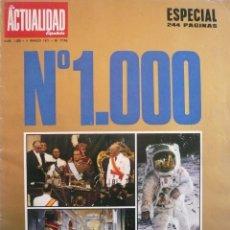 Coleccionismo de Revistas y Periódicos: LA ACTUALIDAD ESPAÑOLA / Nº 1000 / 4 MARZO 1971 / ESPECIAL 244 PÁGINAS (SERIE ORO Nº 1). Lote 83291456