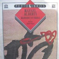 Coleccionismo de Revistas y Periódicos: PPRLY - MARINERO EN TIERRA DE RAFAEL ALBERTI. ILUSTRACIONES; ANTONI TÀPIES. Lote 83326392