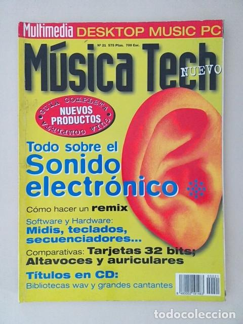 Musica Tech Nº 21 segunda mano