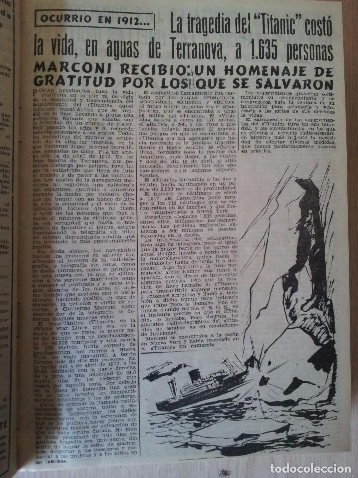 Coleccionismo de Revistas y Periódicos: REVISTA SUCESOS, CRONICA SENSACIONAL DEL MES -1 TOMO - Nº 1 AL 20 - Foto 4 - 83549008