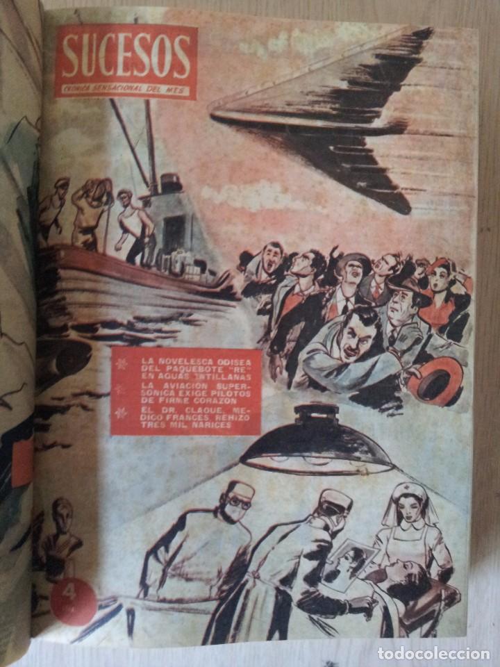 Coleccionismo de Revistas y Periódicos: REVISTA SUCESOS, CRONICA SENSACIONAL DEL MES -1 TOMO - Nº 1 AL 20 - Foto 5 - 83549008