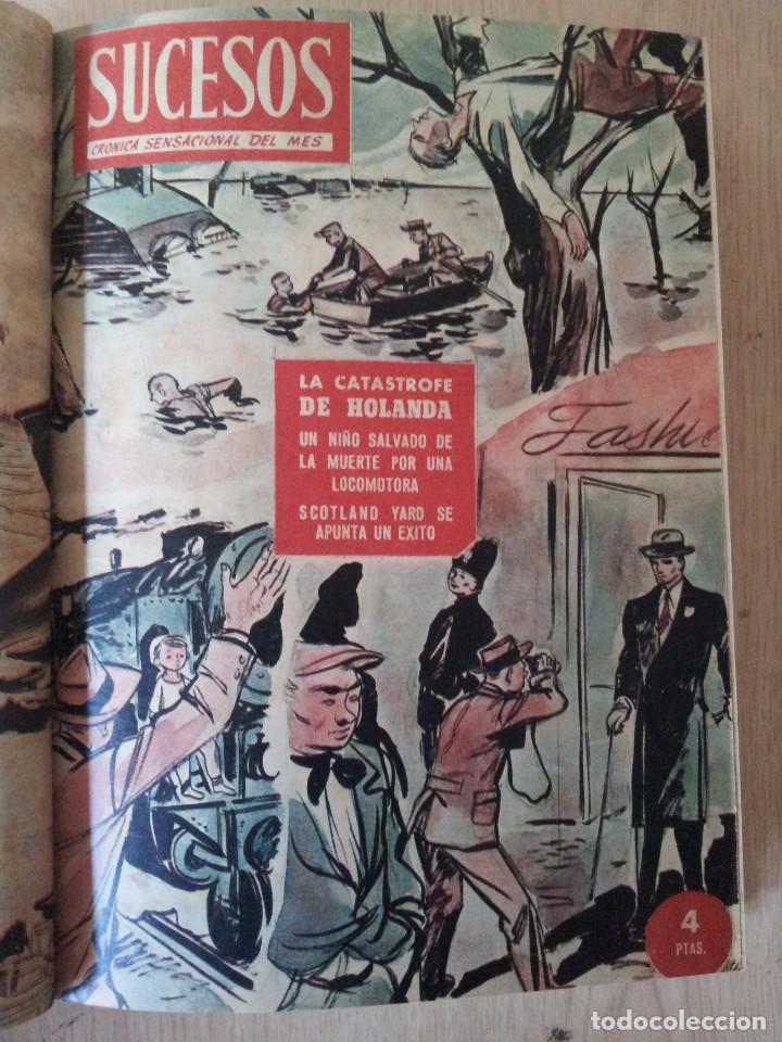 Coleccionismo de Revistas y Periódicos: REVISTA SUCESOS, CRONICA SENSACIONAL DEL MES -1 TOMO - Nº 1 AL 20 - Foto 8 - 83549008