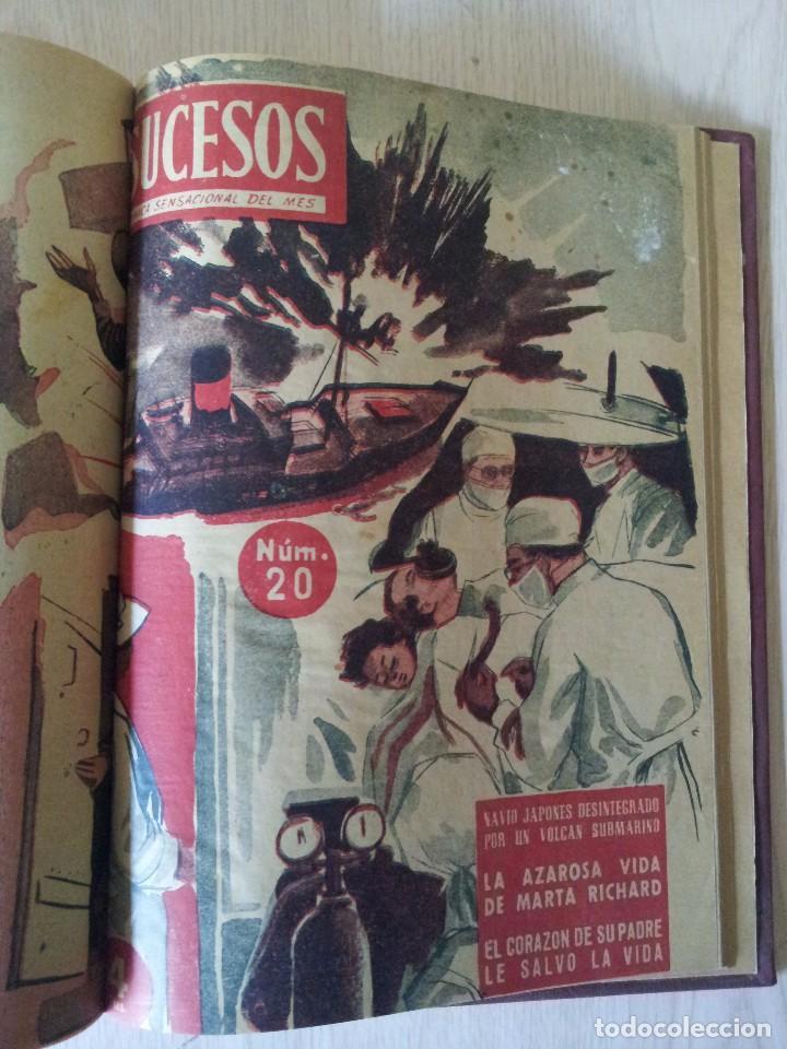 Coleccionismo de Revistas y Periódicos: REVISTA SUCESOS, CRONICA SENSACIONAL DEL MES -1 TOMO - Nº 1 AL 20 - Foto 11 - 83549008