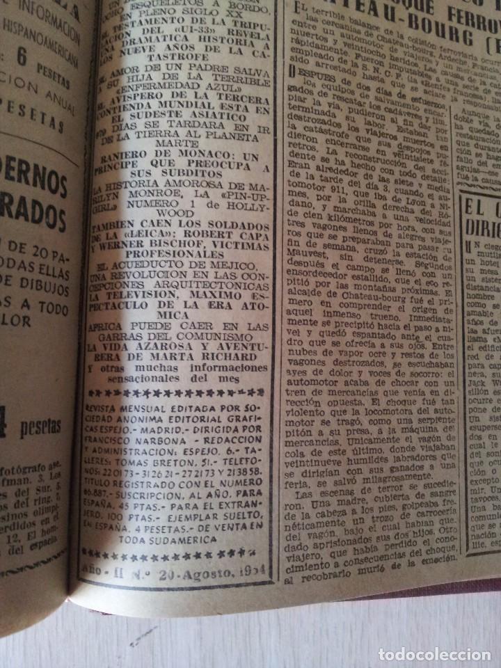 Coleccionismo de Revistas y Periódicos: REVISTA SUCESOS, CRONICA SENSACIONAL DEL MES -1 TOMO - Nº 1 AL 20 - Foto 12 - 83549008