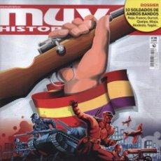 Coleccionismo de Revistas y Periódicos: MUY HISTORIA N. 85 - EN PORTADA: LA BATALLA DEL EBRO (NUEVA). Lote 115116463