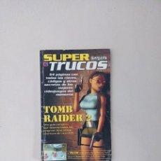 Coleccionismo de Revistas y Periódicos: SUPER TRUCOS (SUPERJUEGOS) TOMB RAIDER 2. Lote 83722552