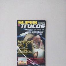 Coleccionismo de Revistas y Periódicos: SUPER TRUCOS (SUPERJUEGOS) RESIDENT EVIL 2. Lote 83722604