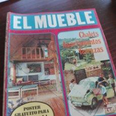 Coleccionismo de Revistas y Periódicos: REVISTA EL MUEBLE 102 / JUNIO 1970 / CHALETS, APARTAMENTOS, TERRAZAS / 48. Lote 83726864