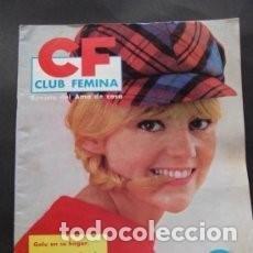 Coleccionismo de Revistas y Periódicos: REVISTA CF CLUB FEMINA, REVISTA DEL AMA DE CASA OCTUBRE DE 1964 N.28 / 12. Lote 83728640