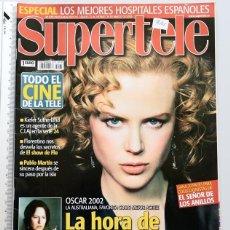 Coleccionismo de Revistas y Periódicos - REVISTA SUPERTELE Nº 566 - AÑO 2003 - NIKOLE KIDMAN - 83768228