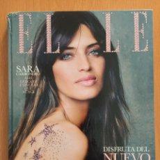 Coleccionismo de Revistas y Periódicos: ENVÍO 12€. REVISTA ELLE EDICIÓN LIM. SWAROVSKI SARA CARBONERO .. Lote 145661520