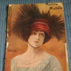 Coleccionismo de Revistas y Periódicos: REVISTA NUEVO MUNDO. DE 1913. Lote 83941952