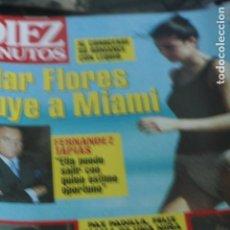 Coleccionismo de Revistas y Periódicos: SARA MONTIEL MAR FLORES ANA OBREGON NAOMI CAMPBELL MARTA SANCHEZ 1997. Lote 84104708