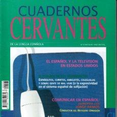Coleccionismo de Revistas y Periódicos: CUADERNOS CERVANTES DE LA LENGUA ESPAÑOLA. Nº 8 MAYO-JUNIO 1996.. Lote 84107228