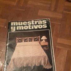 Coleccionismo de Revistas y Periódicos: REVISTA ANTIGUA DE GANCHILLO . Lote 84280583