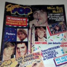 Coleccionismo de Revistas y Periódicos: REVISTA SUPER POP 32 BOSE ELVIS PRESLEY BEE GEES ROD STEWART LEIF GARRET SUPERTRAMP ABBA PECOS. Lote 84328604