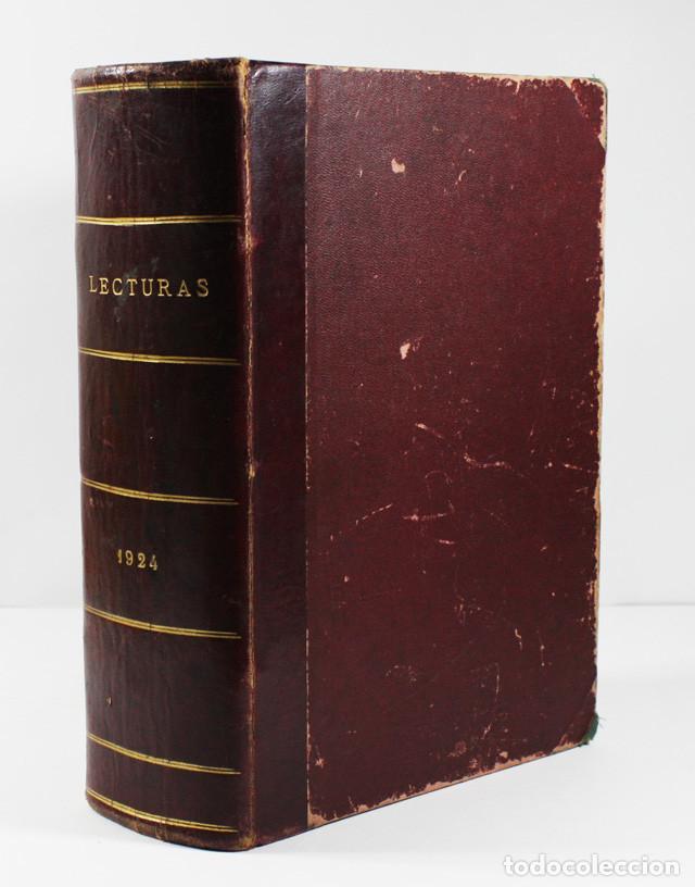 TOMO LECTURAS (SUPLEMENTO DE EL HOGAR Y LA MODA) 1924 1344 PAGINAS (Coleccionismo - Revistas y Periódicos Antiguos (hasta 1.939))
