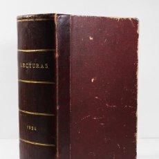 Coleccionismo de Revistas y Periódicos: TOMO LECTURAS (SUPLEMENTO DE EL HOGAR Y LA MODA) 1924 1344 PAGINAS. Lote 84356692