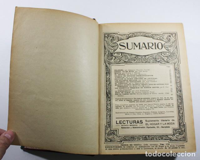 Coleccionismo de Revistas y Periódicos: TOMO LECTURAS (SUPLEMENTO DE EL HOGAR Y LA MODA) 1924 1344 PAGINAS - Foto 3 - 84356692