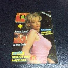 Coleccionismo de Revistas y Periódicos: SUPER LIB Nº 34 - NORMA DUVAL - LUNA PRIETO - MADONNA (REVISTA EROTICA DE LOS 80 ). Lote 90796507