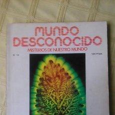 Coleccionismo de Revistas y Periódicos: MUNDO DESCONOCIDO. REVISTA 13.. Lote 84406638
