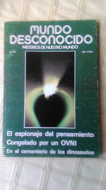 MUNDO DESCONOCIDO.REVISTA 27. (Coleccionismo - Revistas y Periódicos Modernos (a partir de 1.940) - Otros)