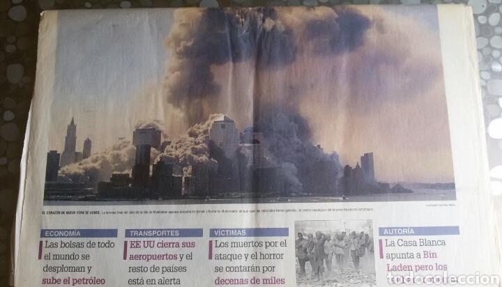 Coleccionismo de Revistas y Periódicos: Periodico Levante Torres Gemelas - Foto 2 - 84616842