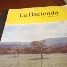 Coleccionismo de Revistas y Periódicos: REVISTA AMERICANA LA HACIENDA NOV 1963. Lote 84785516
