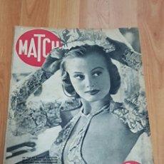 Coleccionismo de Revistas y Periódicos: EJEMPLAR DE LA REVISTA MATCH CON ESPECTACULAR REPORTAJE DE ROBERT CAPA.. Lote 84820807