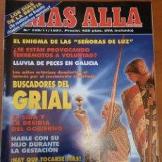 Coleccionismo de Revistas y Periódicos: REVISTA MAS ALLA - BUSCADORES DEL SANTO GRIAL EXPEDIENTES X. - NUMERO 105. Lote 84986116