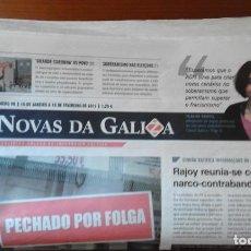 Coleccionismo de Revistas y Periódicos: NOVAS DA GALIZA/NÚMEROS 98 AO 102. Lote 85098148