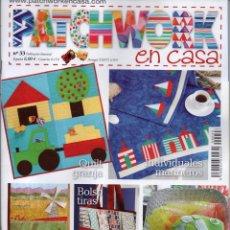 Coleccionismo de Revistas y Periódicos: PATCHWORK EN CASA N. 33 (NUEVA). Lote 85109900