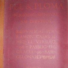 Coleccionismo de Revistas y Periódicos: PEL & PLOMA, . REVISTA MODERNISTA SETIEMBRE AÑO CUARTO. Nº 97. DIBUJOS RAMON CASAS,LLUISA VIDAL. Lote 85116604