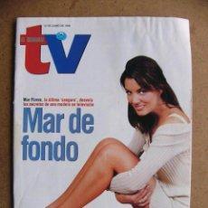 Coleccionismo de Revistas y Periódicos: EL SEMANAL TV Nº 451 MAR FLORES XI FESTIVAL PUBLICITARIO CARMEN Y FAMILIA SORPRESA --REFSAMUMEES6. Lote 85150148