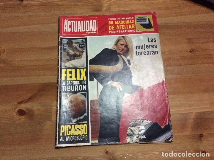 Coleccionismo de Revistas y Periódicos: Félix Rodríguez De la Fuente. La Actualidad Española. 19-abril-1973. N 1.111 - Foto 3 - 85173104