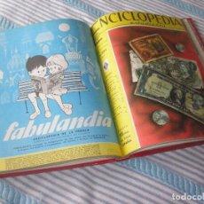 Coleccionismo de Revistas y Periódicos - ¡¡ÚNICA Y FANTÁSTICA ENCICLOPEDIA ESTUDIANTIL ENCUADERNADA DE LUJO!! - 85197940