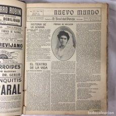 Collezionismo di Riviste e Giornali: REVISTA NUEVO MUNDO 1909 AÑO COMPLETO. Lote 85222806