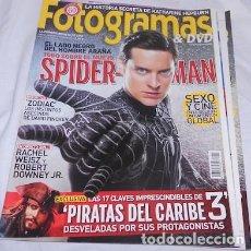 Coleccionismo de Revistas y Periódicos: FOTOGRAMAS Nº 1963, DE 2007, SPIDERMAN, SÓLO LA REVISTA. Lote 85242440