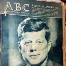 Colecionismo de Revistas e Jornais: Nº 17668 ABC 30 OCTUBRE 1962. - EL BLOQUEO DE CUBA. Lote 85451076