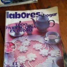 Coleccionismo de Revistas y Periódicos: LABORES DEL HOGAR 1980. Lote 85597958
