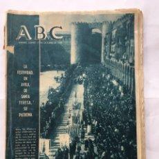 Coleccionismo de Revistas y Periódicos: ABC, PERIÓDICO. (OCTUBRE DE 1957). Lote 85645336