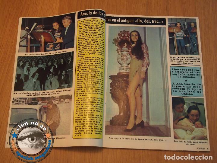 Coleccionismo de Revistas y Periódicos: CHISS # 45 / 1977 ~ ELEONORA GIORGI ~ LIBERTAD LEBLANC ~ UN DOS TRES ~ DIANA RIGG ~ SILVANA SANDOVAL - Foto 2 - 69416061