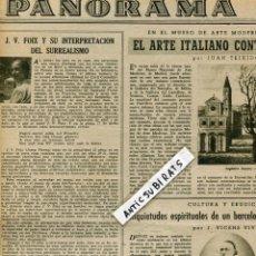 Coleccionismo de Revistas y Periódicos: REVISTA 1948 J.V. FOIX Y EL SURREALISMO PICASSO JOAN MIRO DALI MODIAGLIANI GABRIEL COLL COCTEAU. Lote 85717264
