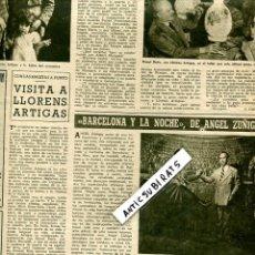 Coleccionismo de Revistas y Periódicos: REVISTA 1949 JOAN MIRO SALVADOR DALI ANGEL ZUÑIGA ALBERT MARQUET LLORENS ARTIGAS XAVIER GOLS . Lote 85721728